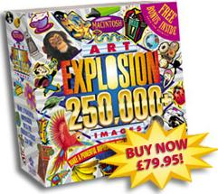 Art Explosion 250,000 MAC box