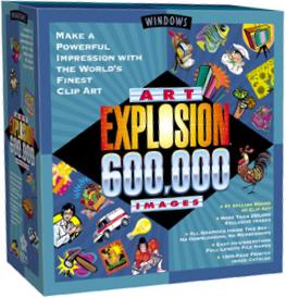 600,000 ClipArt Images box