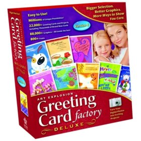 Greeting Card Factory Deluxe Version 6 box