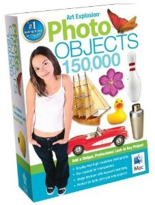 Art Explosion Photo Objects 150,000 Mac DVD