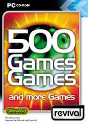 500 Games, Games and more Games box