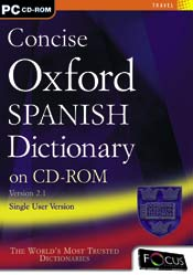 Concise Oxford Spanish Dictionary box