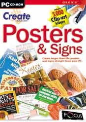 Create Your Own Posters & Signs