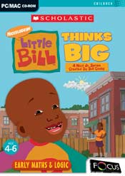 Little Bill Thinks Big box