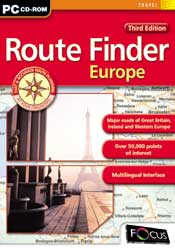 Route Finder Europe-3rd Edition