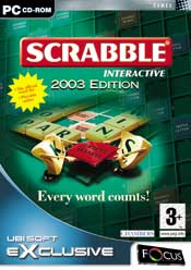 Scrabble Interactive 2003 Edition box
