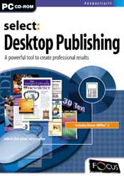 Select:Desktop Publishing box