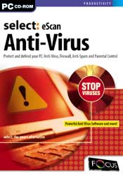 Select:eScan Anti-Virus box