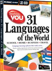 Teaching-you 31 Languages of the World box