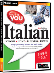 Teaching-you Italian - Second Edition box