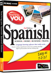 Teaching-you Spanish Second Edition box