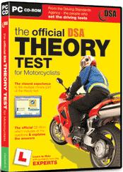 The Official Theory Test for Motorcyclists 2003/2004 box