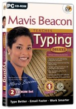 Broderbund GSP Riverdeep Mavis Beacon Teaches Typing Deluxe 16 Windows/MAC