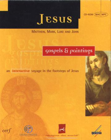 Jesus, Gospels and Paintings - an Interactive Voyage in the Footsteps of Jesus box