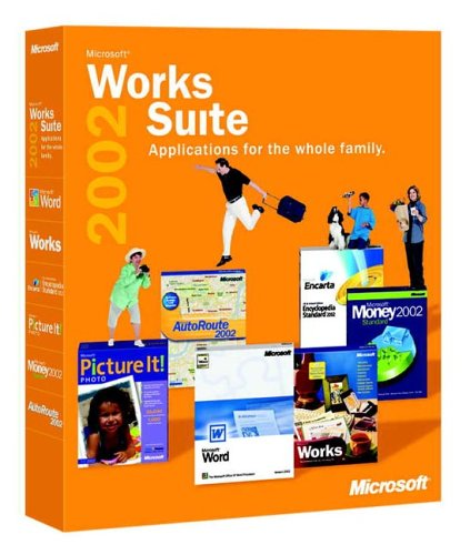 Works Suite with Money 2002 box