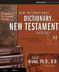 New International Dictionary of New Testament Theology 5.1 box
